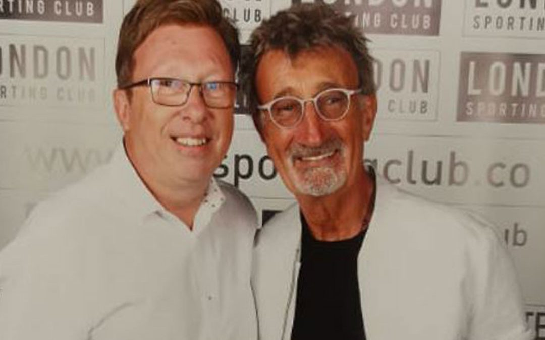 Eddie Jordan Lunch