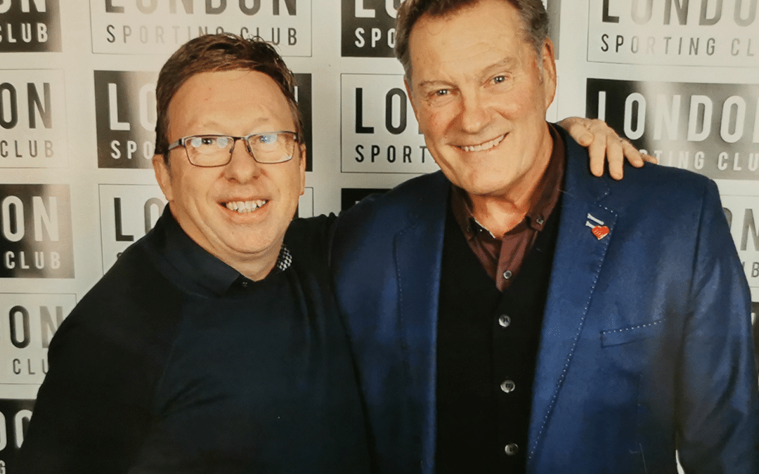 Glenn Hoddle Lunch